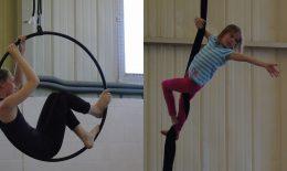 Aerial Silks and Hoop children