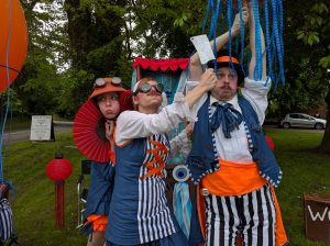 Look out for the eccentric explorers at Sutton Bridge on 24th August!